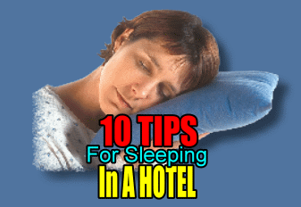 10 Tips For A Good Night Rest In A Hotel